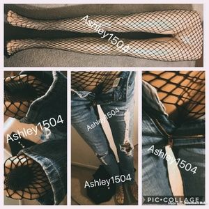 NEW WOMEN'S HIGH WAIST FISHNET TIGHTS STOCKINGS